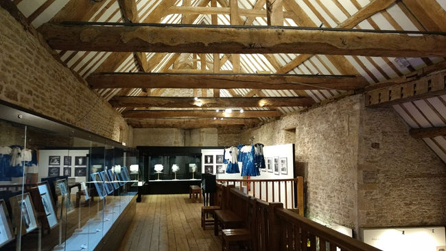Upstairs in Lacock's Photographic Museum