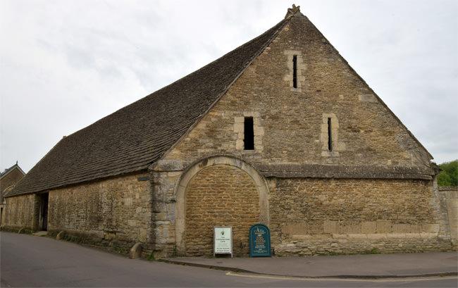 10/12 Inside Lacock's medieval tythe barn