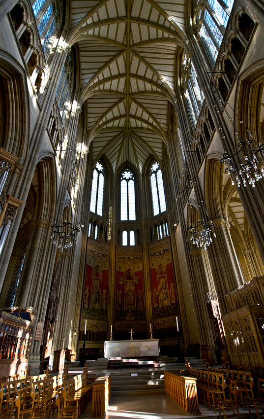 Lancing College Chapel - high alter