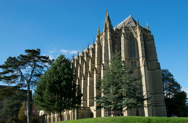 Lancing College Chapel - east end