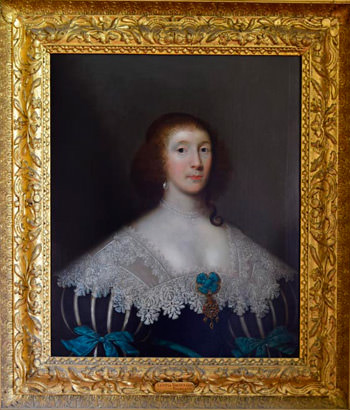 Letitia, Viscountess Falkland by Cornelius Johnson