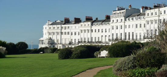 The west end of Brighton's Lewes Crescent<br>Brighton's Lewes Crescent