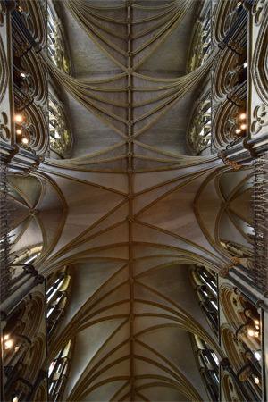 28/28 Crazy vaulting above St. Hugh's Choir