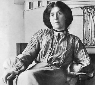 Photograph of Margaret Macdonald Mackintosh