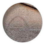 5/9 Shingle tiles on Mimizan Priory's bell tower