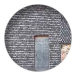 6/9 Shingle tiles on Mimizan Priory's bell tower
