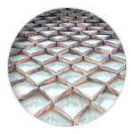 Shingle tiles on Mimizan Priory's bell tower