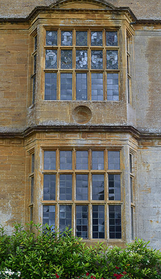 Outside Montacute's Great Chamber