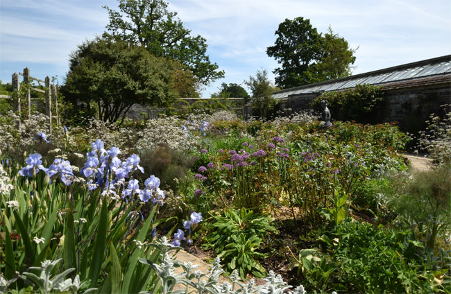 14/16 Parham House Gardens in May