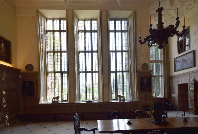 3/16 Parham House, the Great Hall, south window