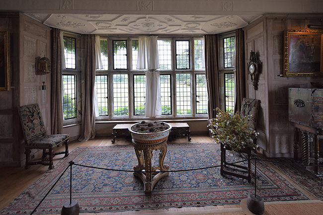Parham House, the Great Parlour south bay window