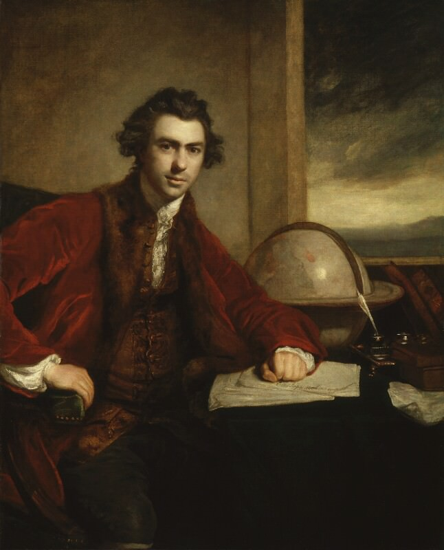 Sir Joshua Reynolds' portrait of Sir Joseph Banks