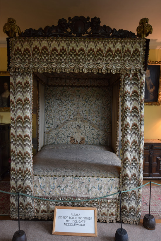 Parham House, the Great Bed
