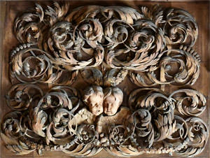21/23 Ducal cherubs in Petworth's Carved Room