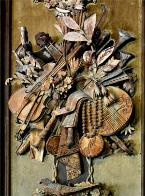 17/23 Musical exuberance in Petworth's Carved Room