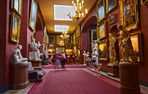 7/23 Petworth House, the North Gallery, looking west