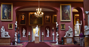 9/23 Petworth House North Gallery, looking south