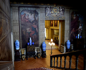 13/23 Petworth House staircase