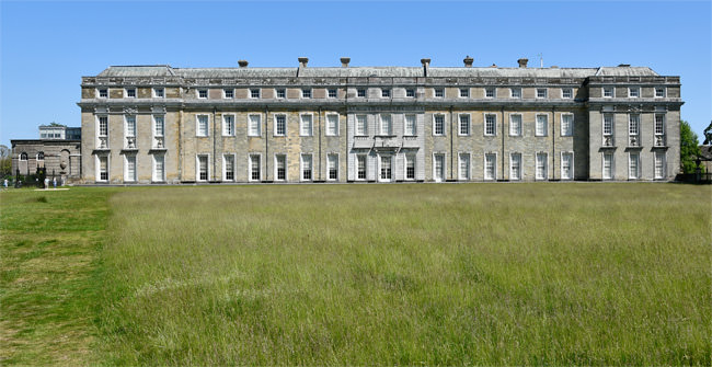 1/23 The west front of Petworth House