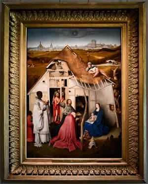 14/23 Petworth House, The Adoration of the Magi by Hieronymus Bosch