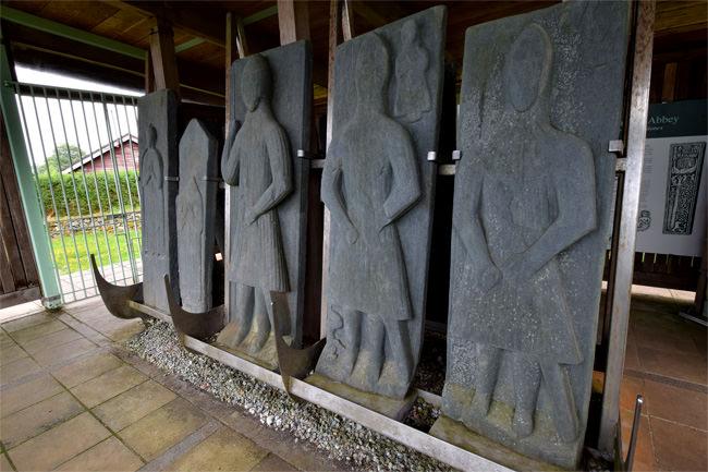 Saddell's standing stones