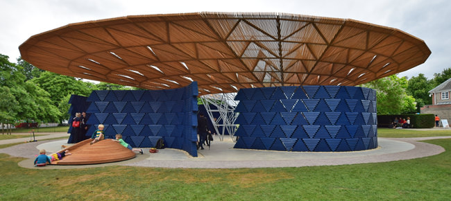 1/5 The Serpentine Gallery Pavilion 2017