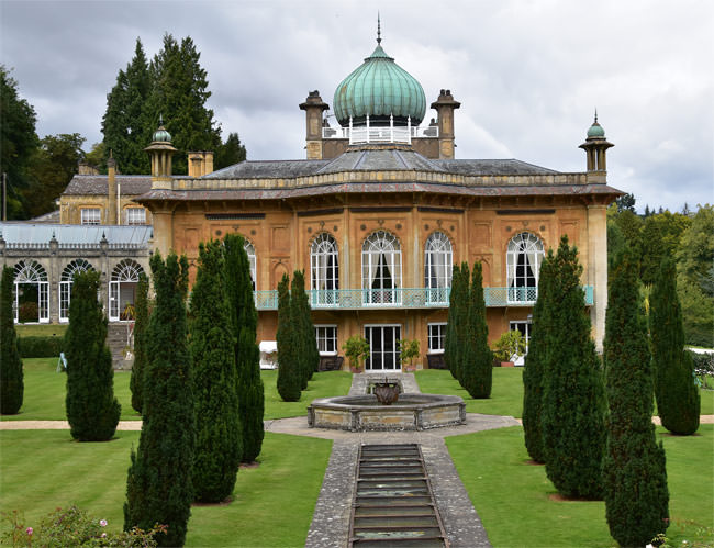 Sezincote, a mix of Islamic and Hindu architectural styles, built in Gloucestershire between 1805 and 1812
