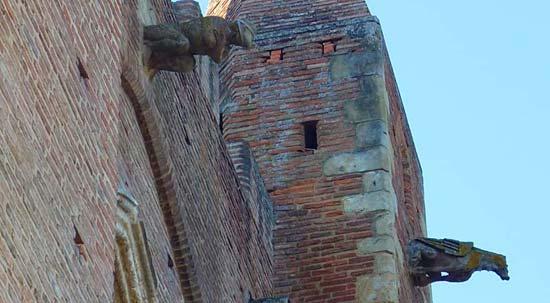 Gargoyles on the Notre-Dame-de-l'Assomption church, Simorre