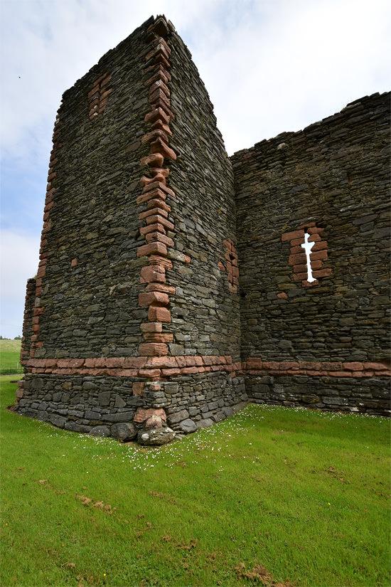 Skipness Castle detail
