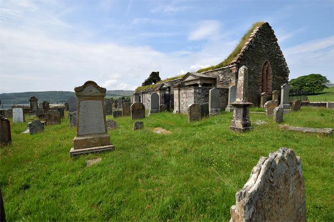 The ruin of Kilbrannan Chapel