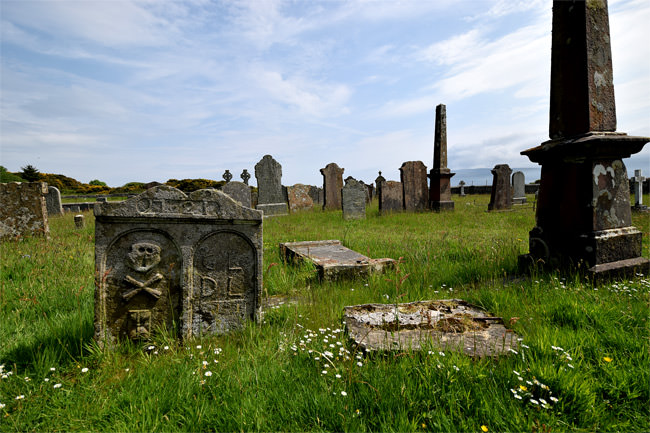 Kilbrannan Chapel graveyard