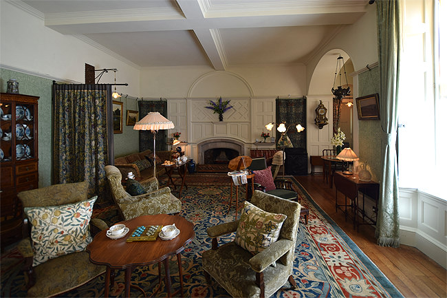 Standen House, drawing room
