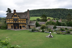 5/12 Nestled in the Shropshire Hills Area of Outstanding Natural Beauty, Stokesay Castle's gatehouse