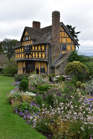 7/12 The gatehouse at Stokesay Castle, the ultimate chocolate box photograph