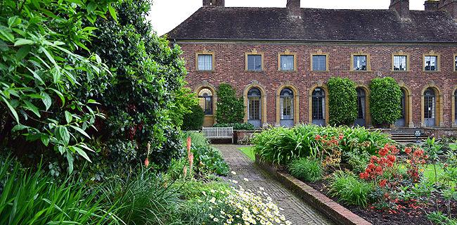 Strode House adjacent to Barrington Court in Somerset
