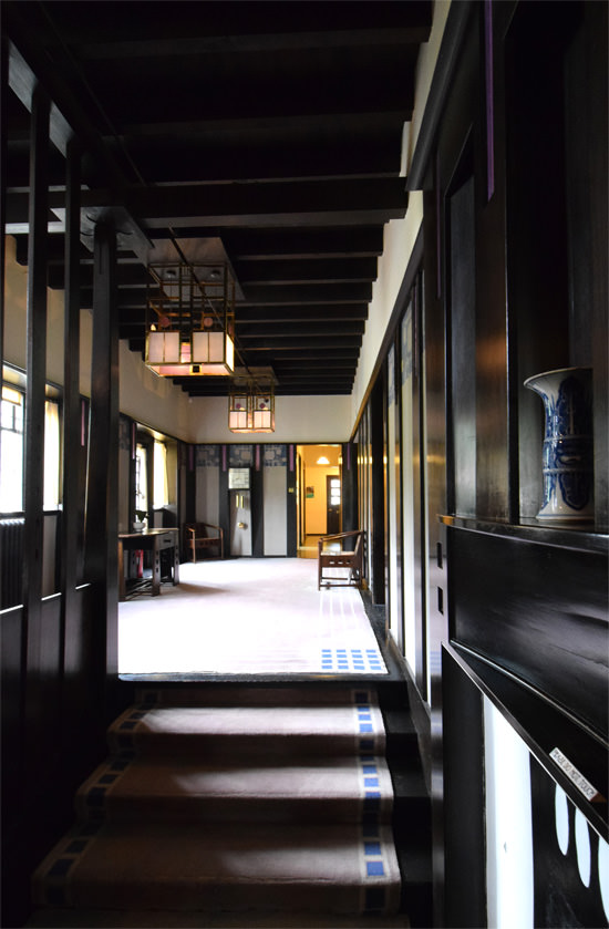 The Hill House hallway