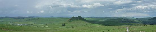 Le plateau du Cézallier