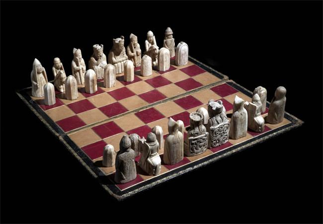 The Uig Chessmen, © Trustees of the British Museum