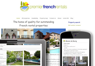 Premier French Rentals - outstanding French holiday property