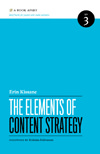 The Elements of Content Strategy book cover