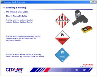 Dangerous Goods CBT (CityJet)
